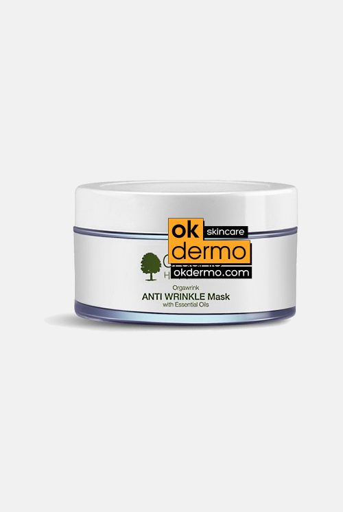 Organic Anti Wrinkle Mask By Organic Harvest 50gm