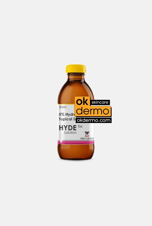 HYDE® Pure Hydroquinone 5% USP Topical Solution By Menarini 50ml