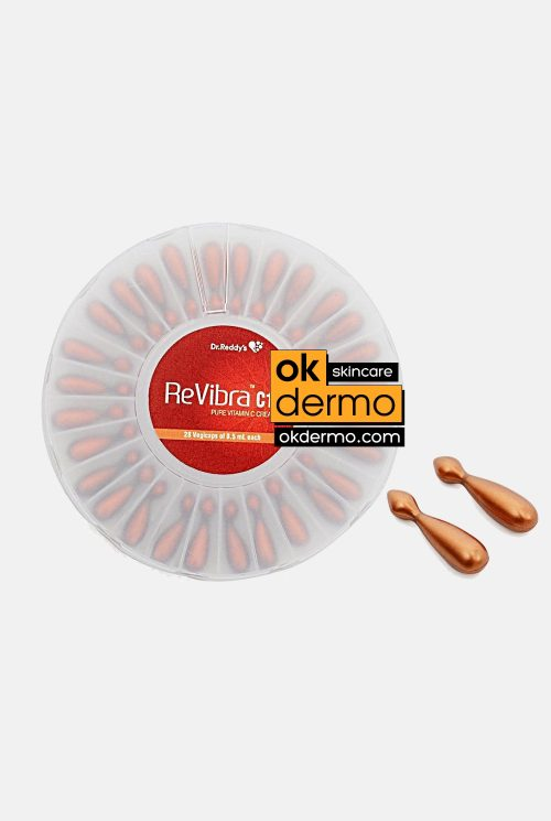 Revibra C10® Pure Vitamin C Cream | 28 Vegicaps/0.5ml By Dr. Reddy's