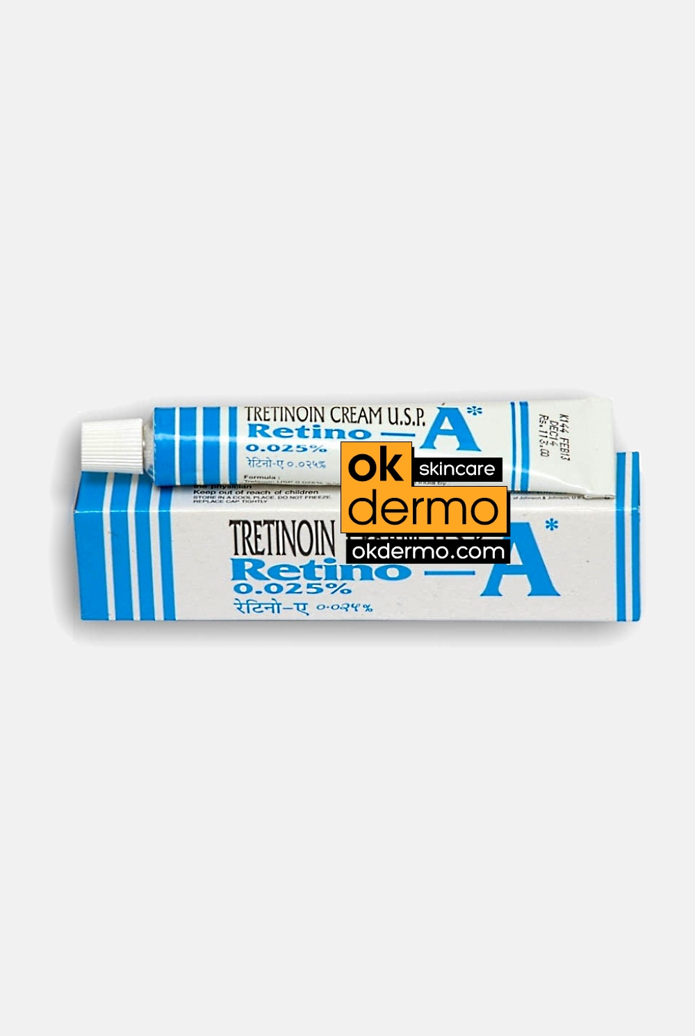 Buy Retin A 0.025% Cream Online | Order Retino-A, Retinol