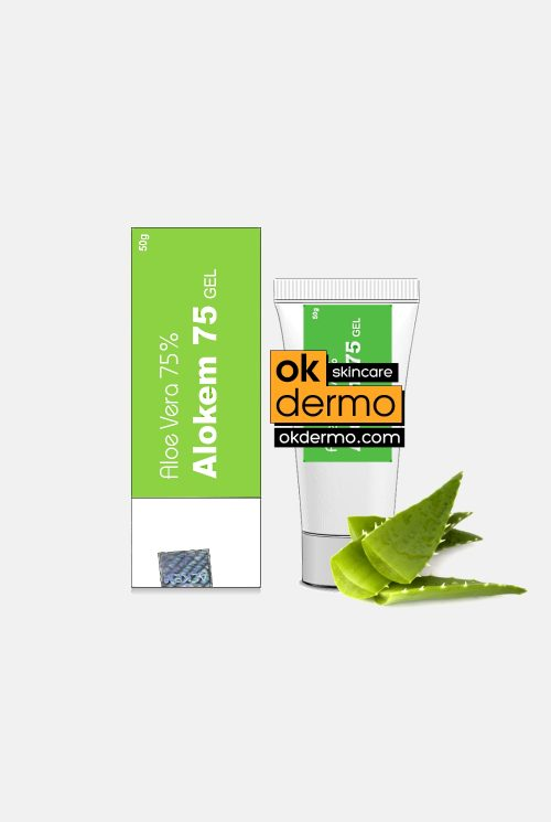 Alokem 75® Natural Aloe Vera 75% Gel By Alkem Pharma 50g