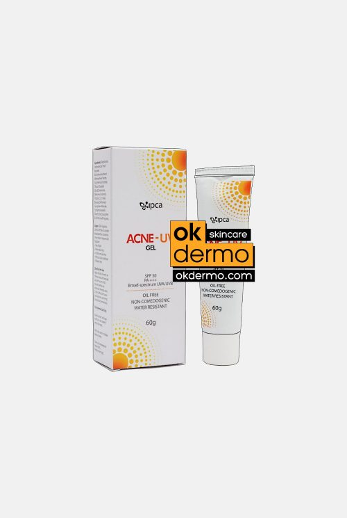 Acne-UV® SPF 30 PA+++ Broad Spectrum UVA / UVB Oil Free Sunscreen Gel By IPCA Labs 60g