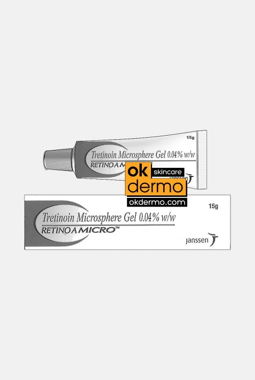 Retino-A Micro 0.04%® Moderate Tretinoin Microsphere Gel 0.04% By Janssen J&J 15g