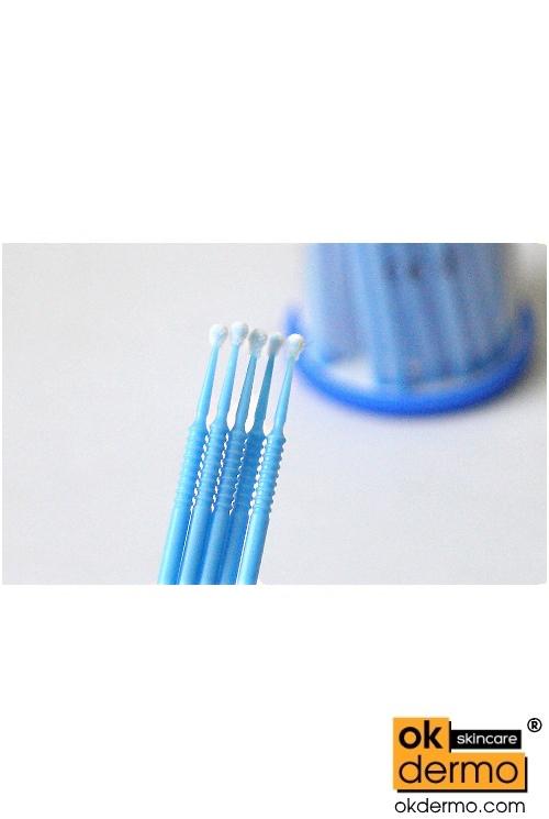 Disposable 15mm Fine Micro Applicators For Eyelash Serum X100