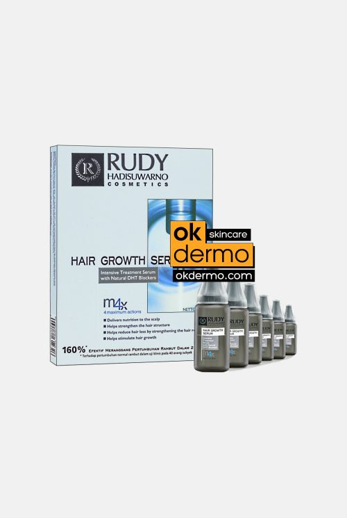 Rudy Hadisuwarno Cosmetics ® Hair Growth & Intensive Hair Loss Treatment Serum 6x9ml
