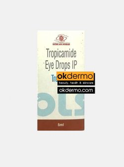 mydriacyl eye drops , tropicamide eye drop , tropicacyl eye drops
